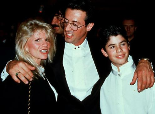 seargeoh stallone with her mother and father