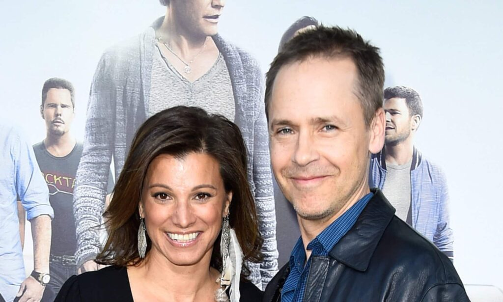 chad lowe with her wife